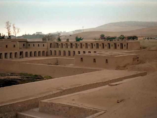 foto de Santuario de Pachacámac
