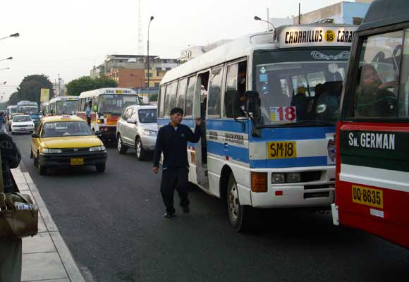Transporte en Peru