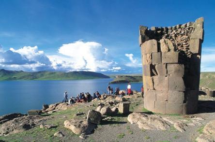 Lago Titicaca en Puno