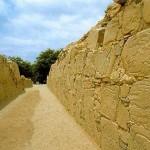 La zona arqueológica de Sechín