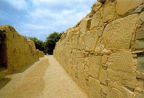 arqueologia en Sechin