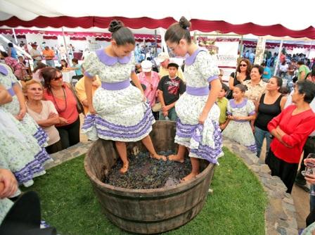 Fiesta de la vendimia en Ica