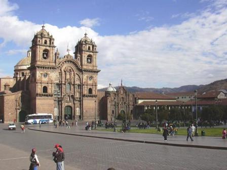 Iglesia de la Compañia de Jesus en Cuzco