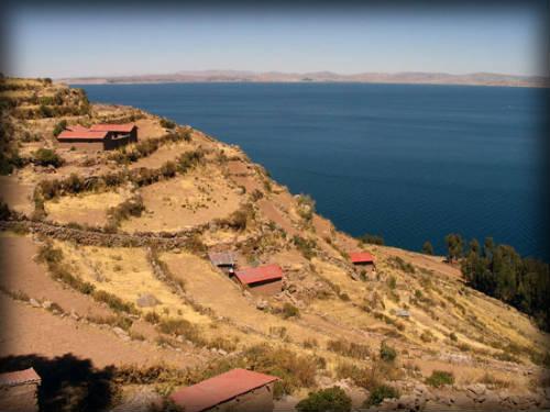 Isla de Taquile, Cultivo en terrazas