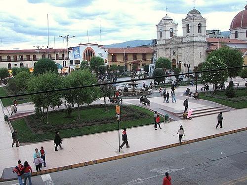 Plaza Constitucion en Huancayo