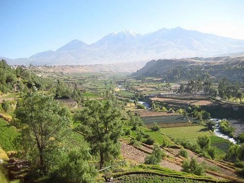 A las afueras de Arequipa