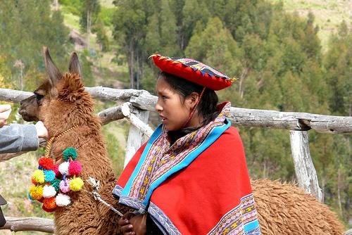 Habitante del Valle Sagrado de los Incas