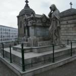 Piezas monumentales en el Cementerio Presbítero Matías Maestro
