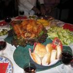 La Cena de Navidad en Perú