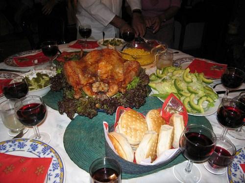 Cena de Navidad en Peru