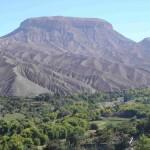 El Cerro Baúl, cerca de Moquegua