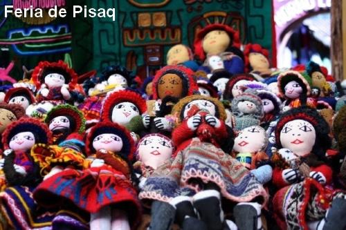 Muñecas de alpaca en Pisaq