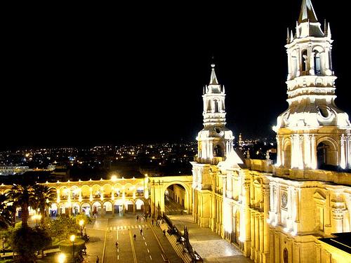 Noche en Arequipa