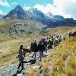 La ruta de Olleros a Chavín, camino de los incas