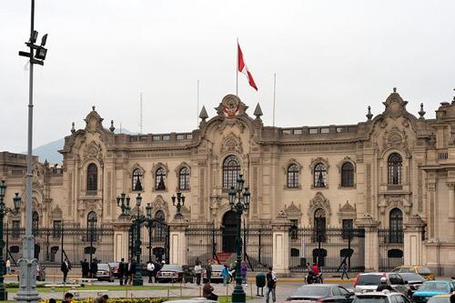 Palacio presidencial de Lima