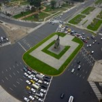 Plaza Grau, monumento a un héroe de la patria