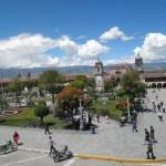 La Plaza de Armas de Ayacucho
