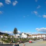El casco antiguo y el museo de Huamachuco