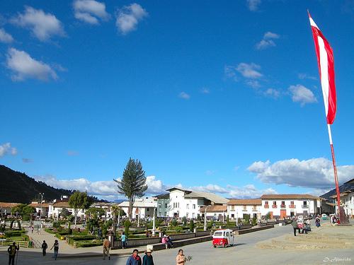 Plaza de Armas de Huamachuco