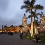 La Plaza de Armas en Lima