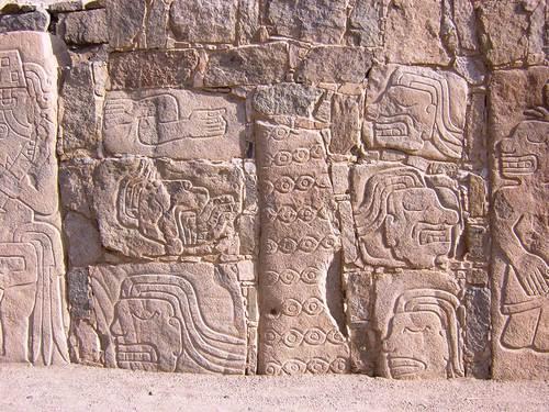 Relieves en Mojeque - Pampa de Llamas
