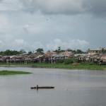 El río Nanay, afluente del Amazonas