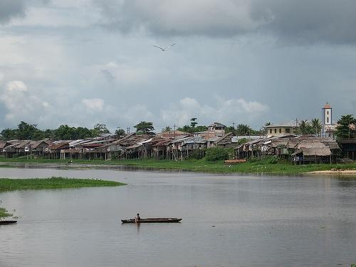Rio Nanay en Iquitos