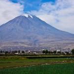 El Volcán Misti en Arequipa