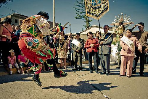 Bailarines de Perú