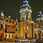 Visitando la Catedral de Lima