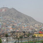 El Cerro San Cristóbal, en Lima