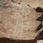 Visitando los petroglifos de Checta