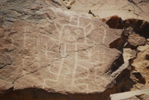 petroglifos de Checta