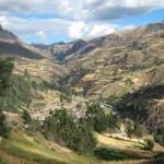 Corredor valles de Conchuco, ruta del Imperio Inca