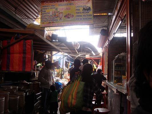 Cuzco, Mercado San Pedro