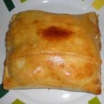 Empanadas de jamón y queso con masa hojaldre