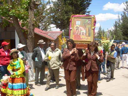 Peregrinacion al Santuario del Señor de Huanca