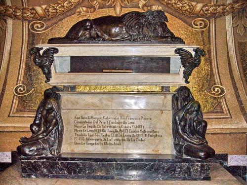 La tumba de Francisco Pizarro