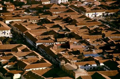 Cuzco desde arriba