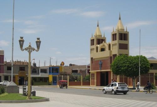 Plaza de Armas de Huarmey