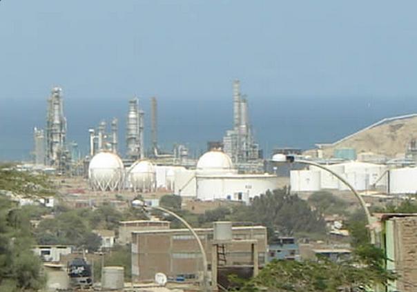 Refineria en Pariñas