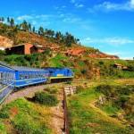 El tren Trasandino a Machu Picchu 2011