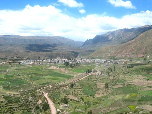 Chivay en el Valle de Colca